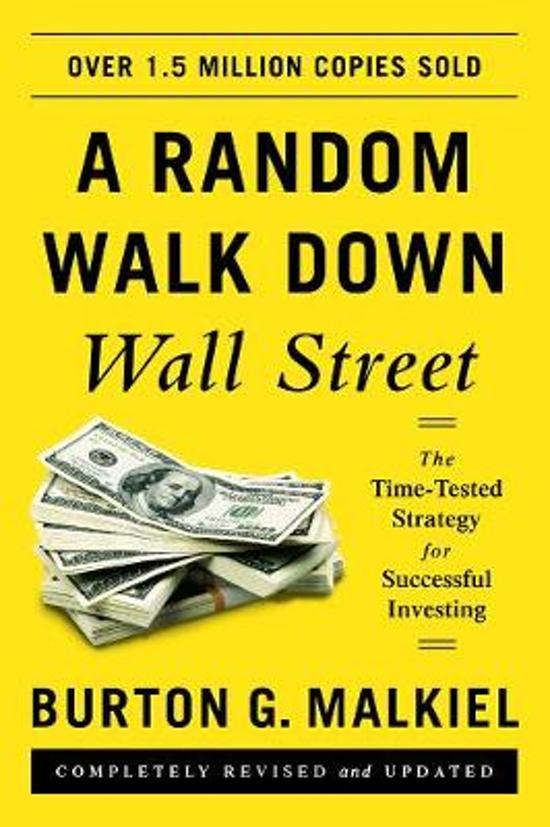 De beste boeken over beleggen: A Random Walk Down Wallstreet