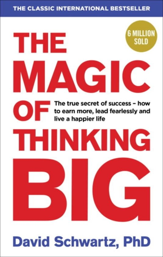 De beste boeken over beleggen: The Magic of Thinking Big