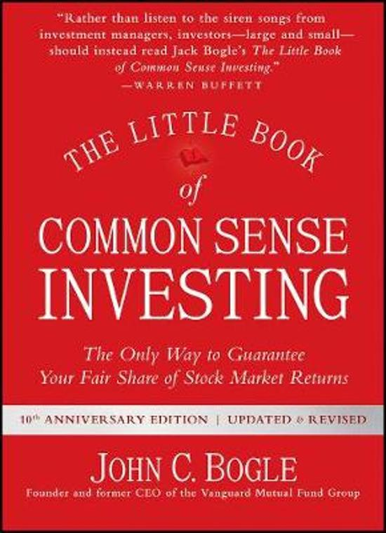 De beste boeken over beleggen: The Little Book of Common Sense Investing