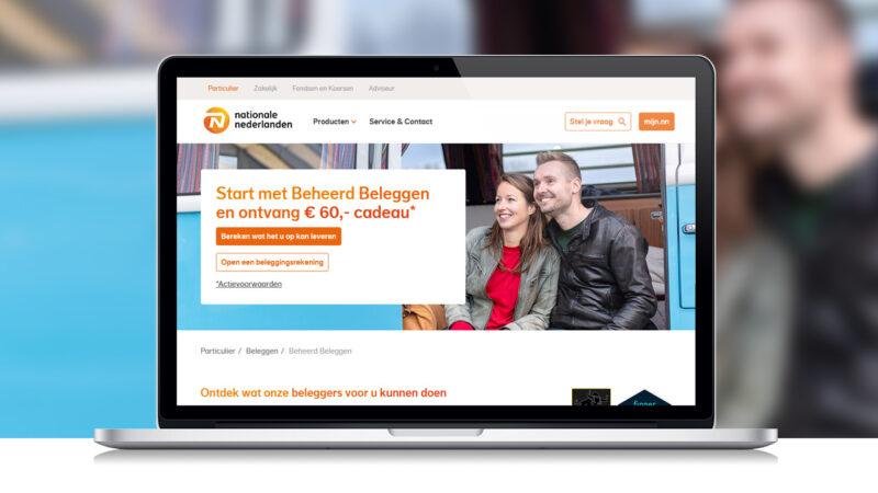 €60 bonus bij Beheerd Beleggen van Nationale Nederlanden